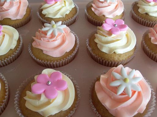 Cupcakes para Baby Shower….es una niña | Mi Vida en un Dulce