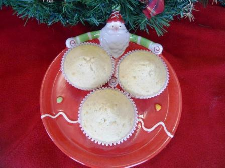 Muffins de Eggnog