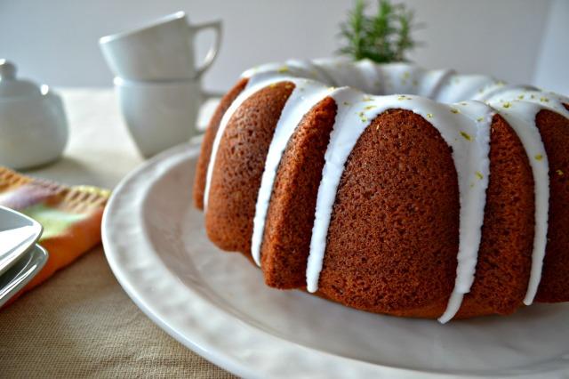 Bundt Cake de Calabaza, Cardamomo y Naranja