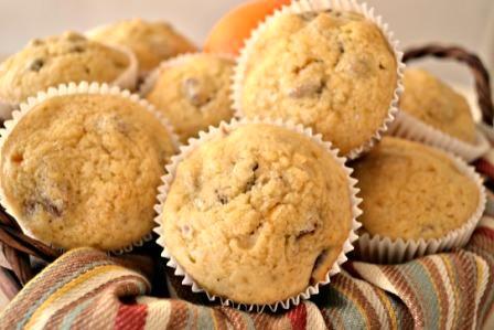 Muffins de Mermelada de Naranjas y Pecanas