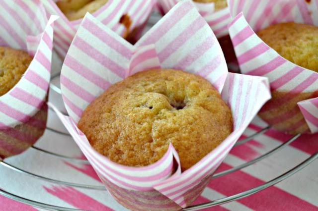 Muffins de Frambuesas