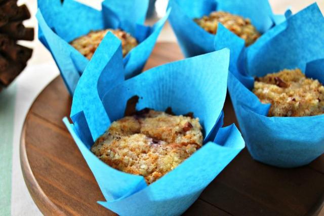 Muffins de Zarzamoras
