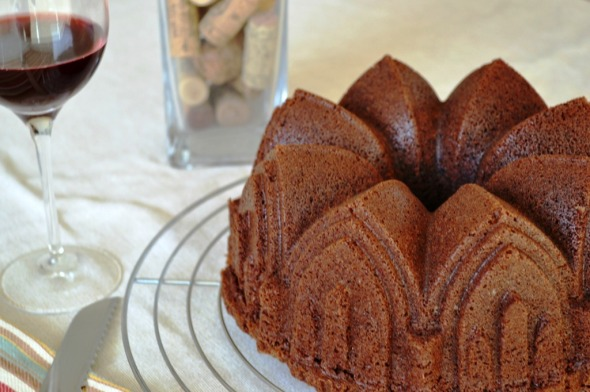 Bundt Cake de Chocolate y Vino