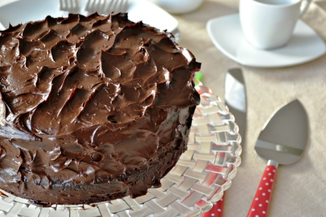 Torta de Chocolate Vegana