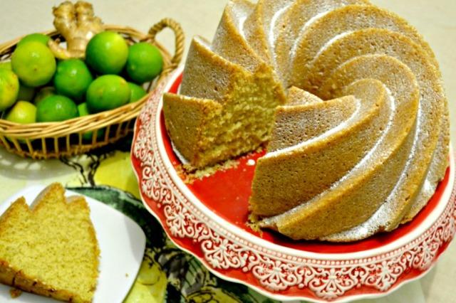 Bundt Cake de Limón, Kion y Pimienta