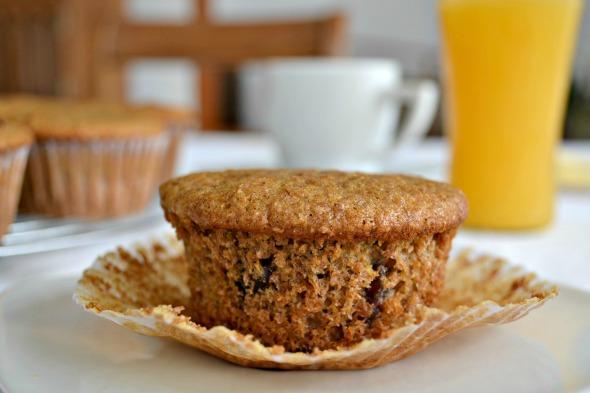 Muffins de Salvado y Miel