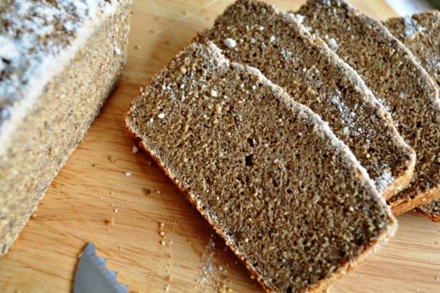 Pan de Semillas sin Gluten