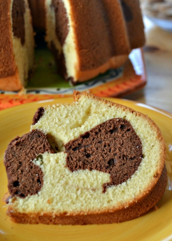 Bundt Cake Marmoleado