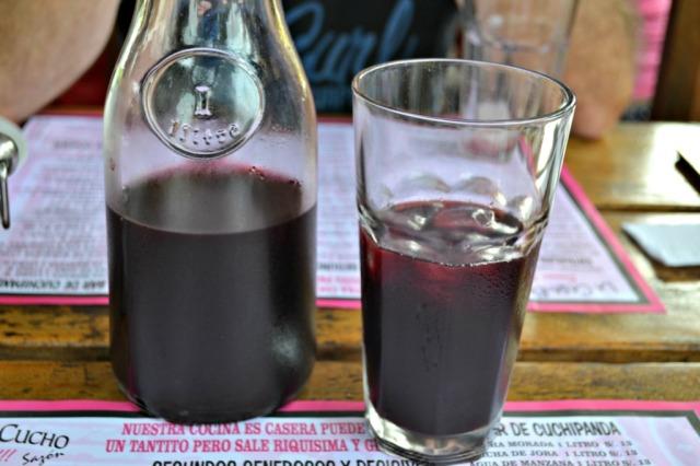 Chicha Morada - 1 litro: 13.00 soles