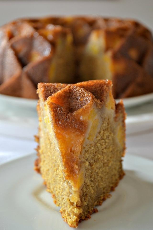 Bundt Cake de Durazno