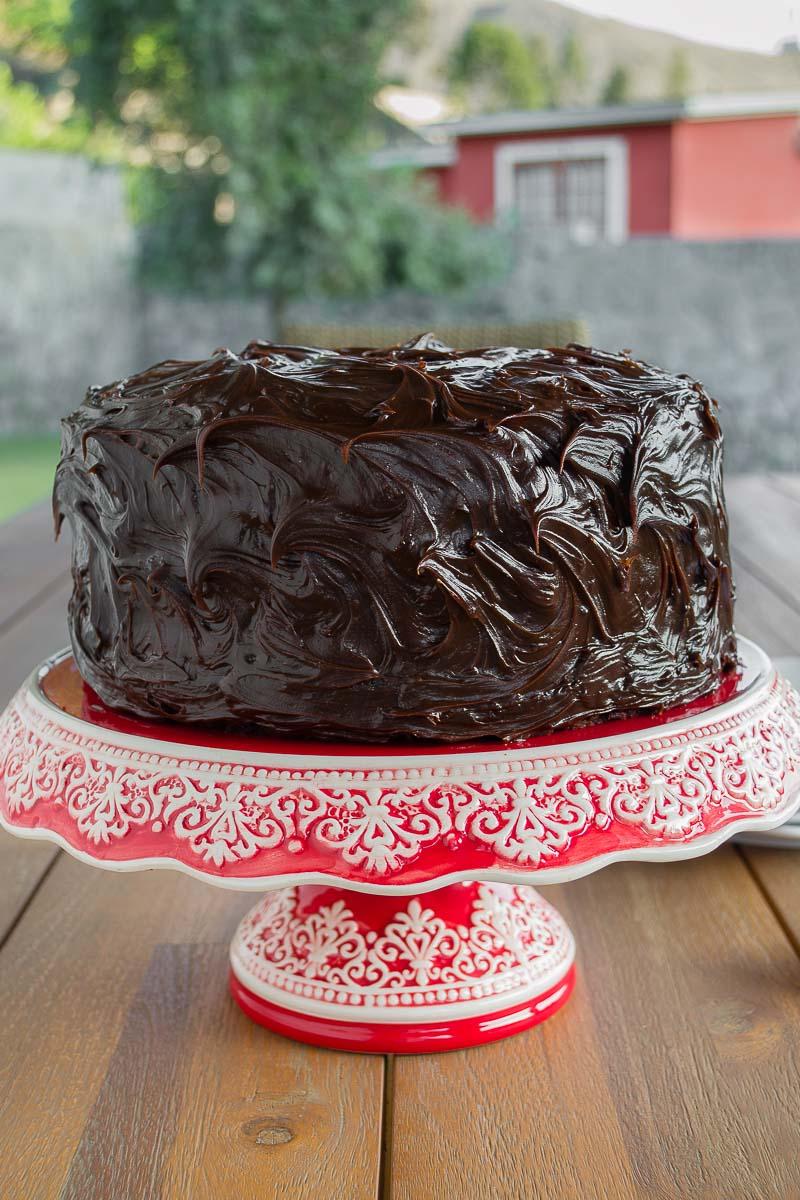 Receta de torta de chocolate 2 kilos
