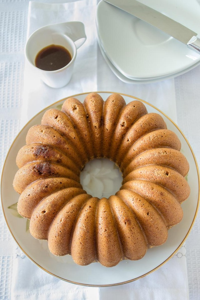 Bundt Cake de Té Especiado
